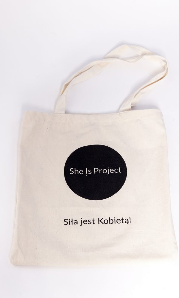 She Is Project torba bawełniana na ramię
